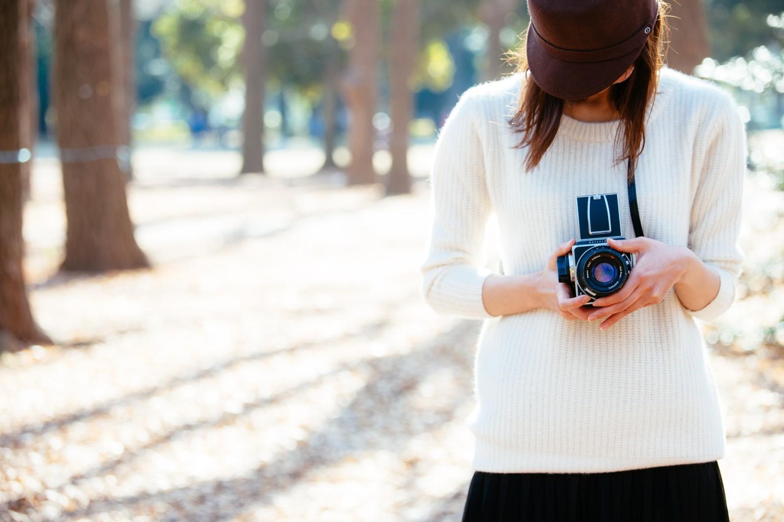 カメラ女子です。